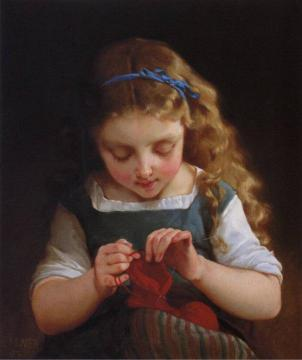 A Careful Stitch Artwork by Emile Munier