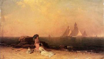 Afternoon At The Shore Artwork by Alfred Thompson Bricher