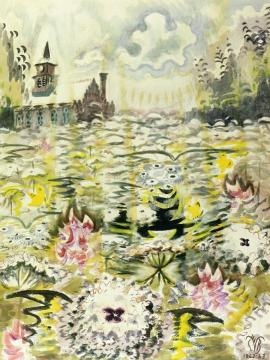 A Sea Of Queen Anne's Lace Artwork by Charles Burchfield