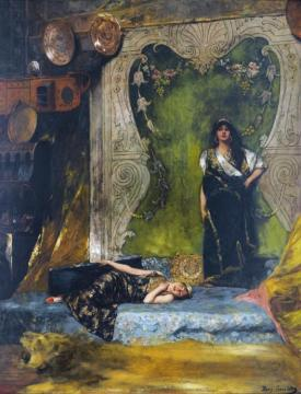 Afternoon Langour Artwork by Benjamin Constant