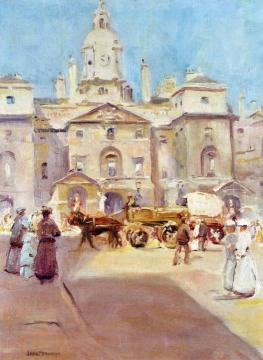 The Horse Guards Artwork by Jane Peterson