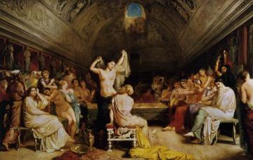 The Tepidarium Artwork by Theodore Chasseriau