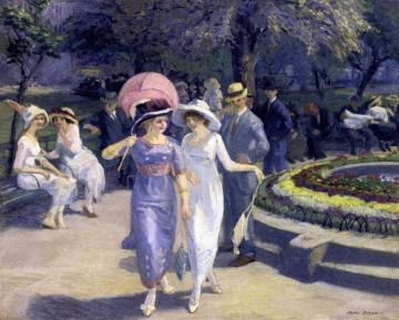 Sunday Afternoon In Union Square Artwork by John Sloan