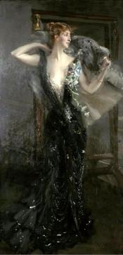 La Contessa Speranza Artwork by Giovanni Boldini