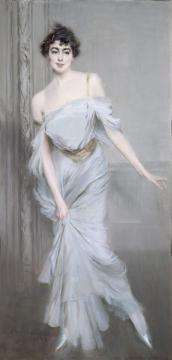 Madame Charles Max Artwork by Giovanni Boldini