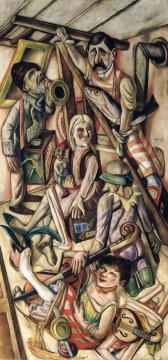 The Dream Artwork by Max Beckmann