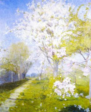 Blossom at Dennemont Artwork by Charles Conder