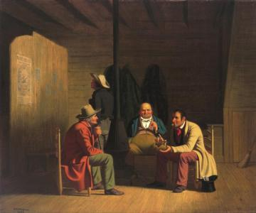 Country Politician Artwork by George Caleb Bingham