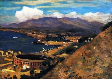 The Rising Sun, Malaga Artwork by Alson Skinner Clark