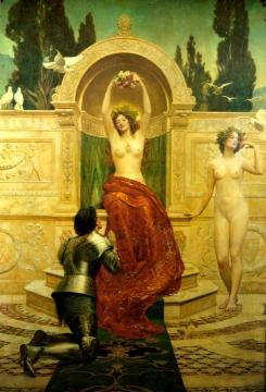 In the Venusberg Tannhäuser Artwork by John Maler Collier