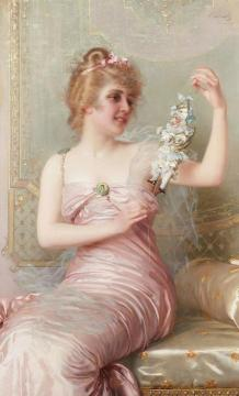 The plaything Artwork by Vittorio Matteo Corcos