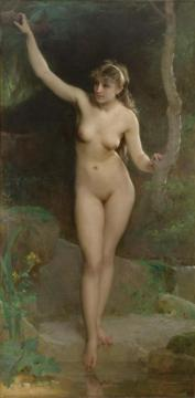 The Bather Artwork by Emile Munier