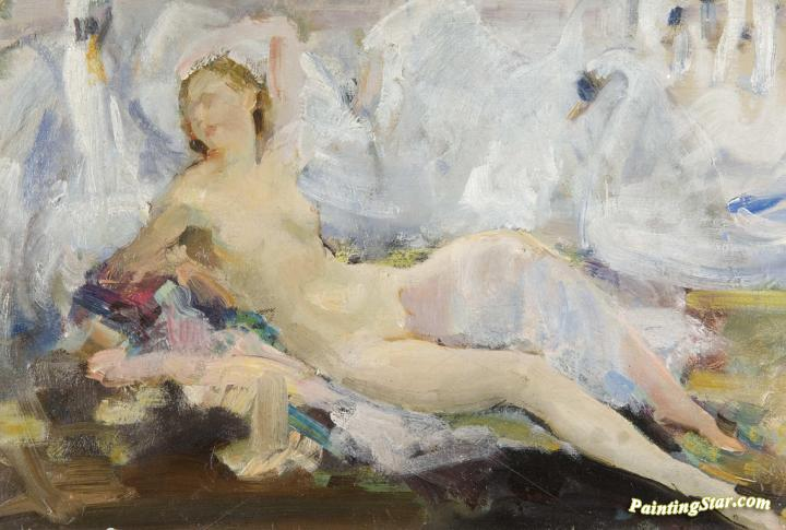 Reclining female picture 3