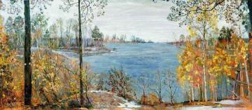 Late Autumn Artwork by Isaak Brodsky