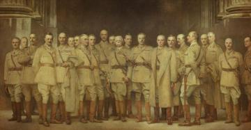 General Officers Of World War I Artwork by John Singer Sargent