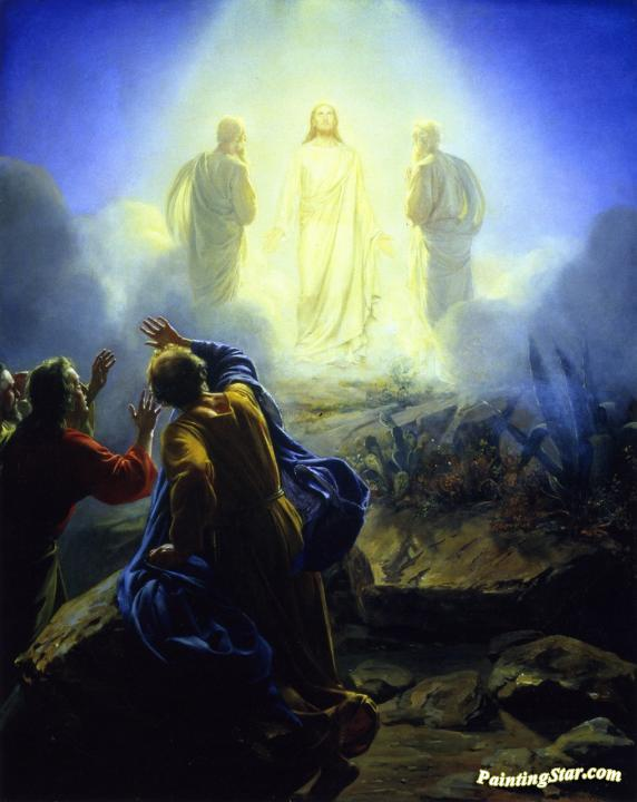 The Transfiguration Artwork By Carl Heinrich Bloch Oil ...