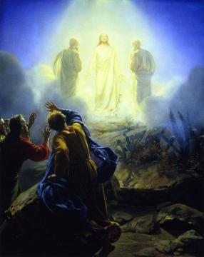 The Transfiguration Artwork by Carl Heinrich Bloch