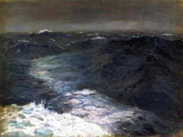 Mid-ocean, Mid-winter Artwork by John Singer Sargent