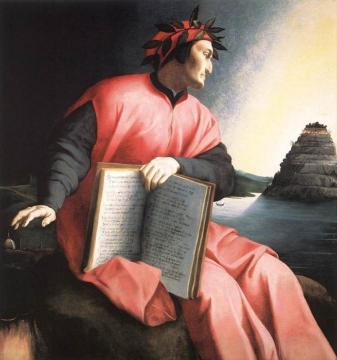 Allegorical portrait of Dante Artwork by Agnolo Bronzino