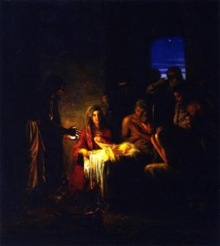 The Holy Night Artwork by Carl Heinrich Bloch
