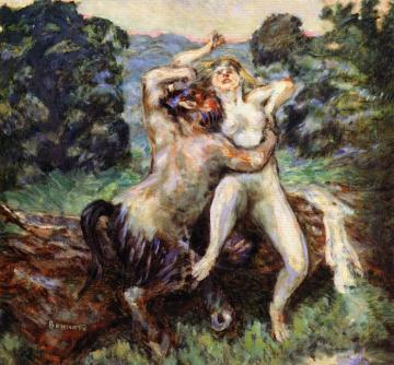 The Rape of the Nymph Artwork by Pierre Bonnard