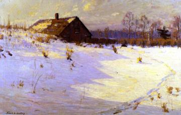 One Winter's Afternoon Artwork by Frank V. Dudley