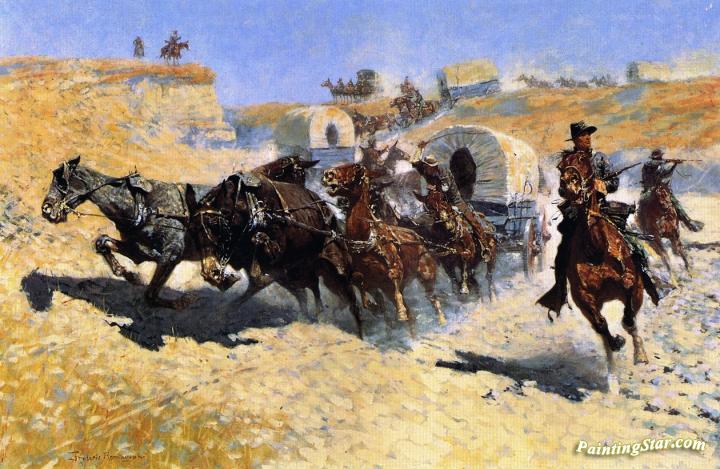 Remington Artist Paintings