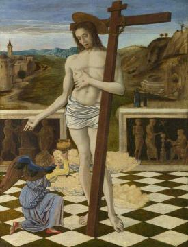 The Blood of the Redeemer Artwork by Giovanni Bellini