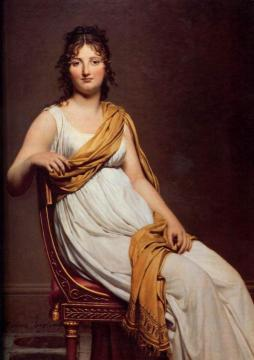 Madame Raymond de Verninac Artwork by Jacques Louis David