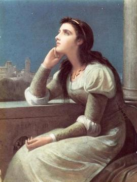 Juliet Artwork by Philip Hermogenes Calderon