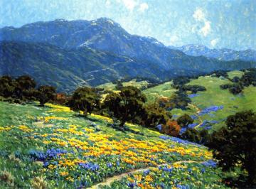 California Poppyfield Artwork by Granville Redmond