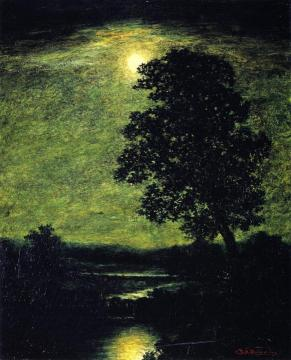 Moonlight Artwork by Ralph Albert Blakelock