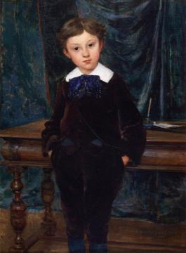 The Little Lord Artwork by Jules Bastien-Lepage