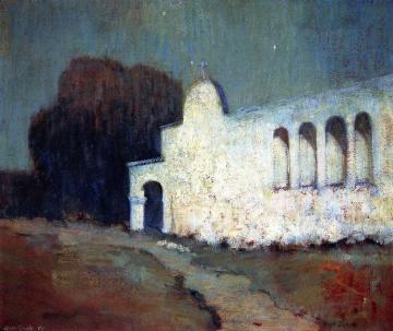 Moonlight, San Juan Capistrano Artwork by Alson Skinner Clark