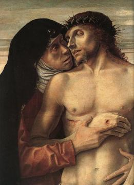 Pieta(detail) Artwork by Giovanni Bellini