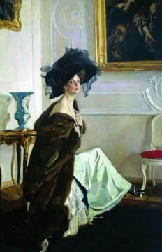 Portrait of Princess O. K. Orlova Artwork by Valentin Serov
