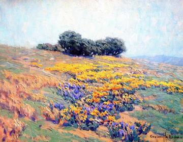 California Poppies Artwork by Granville Redmond
