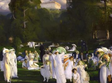 A Day In June Artwork by George Wesley Bellows