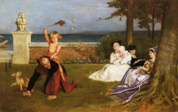 The Young Lord Hamlet Artwork by Philip Hermogenes Calderon