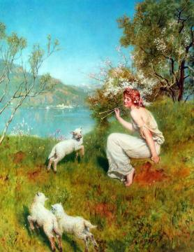 Spring Artwork by John Maler Collier
