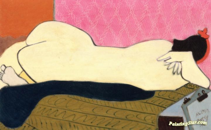 Nude Artwork by Milton Avery