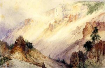 Grand Canyon of the Yellowstone Artwork by Thomas Moran