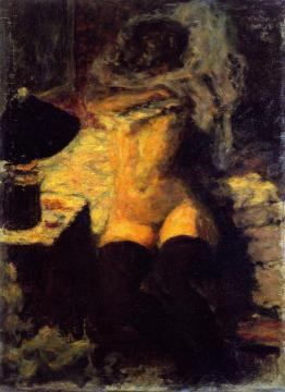 Nude With Black Stockings Artwork by Pierre Bonnard