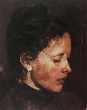 Portrait of O. F. Serova Artwork by Valentin Serov