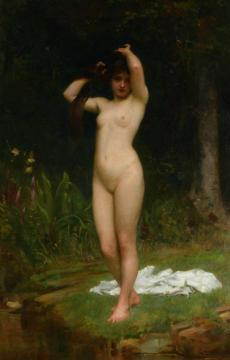 A Woodland Nymph Artwork by Philip Hermogenes Calderon