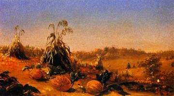 Old Lyme Pumpkins Artwork by Charles De Wolf Brownell