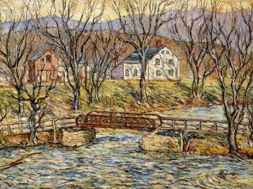 Moodna Creek, New York Artwork by Reynolds Beal
