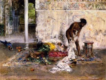 After the Bath Artwork by Giovanni Boldini