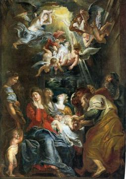 Circumcision of Christ Artwork by Peter Paul Rubens