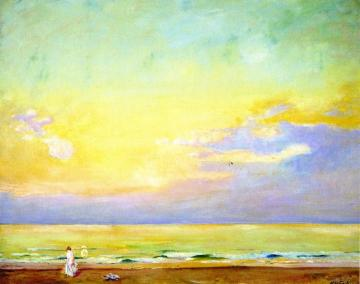 Sunset Normandy Artwork by Alson Skinner Clark